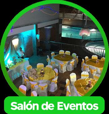 Salón de eventos en Las Vegas Club