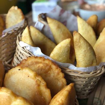Las mejores empanadas de barranquilla en Las Vegas Club