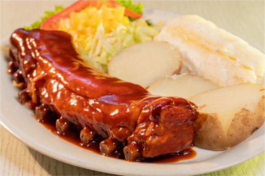 Costillitas de Cerdo en Salsa BBQ
