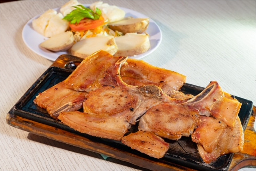 Chuleta de Cerdo a la Plancha 600gr