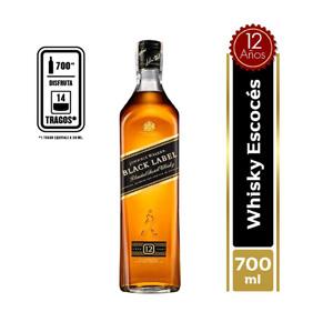 Johnnie walker black label 700cc