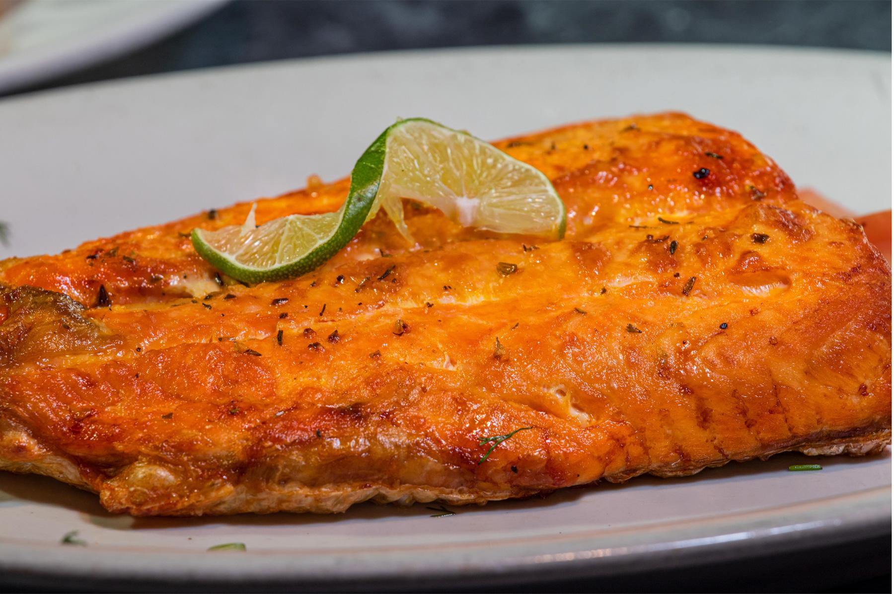 Filete de salmon a la plancha